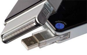 A razor you can charge via USB! #mobilerazor