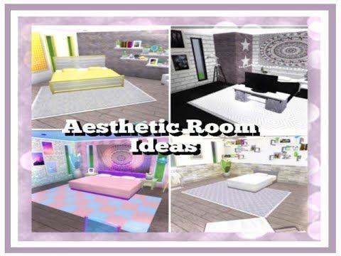 Bloxburg Aesthetic Bedroom Ideas 5x5 Youtube Bloxburg House