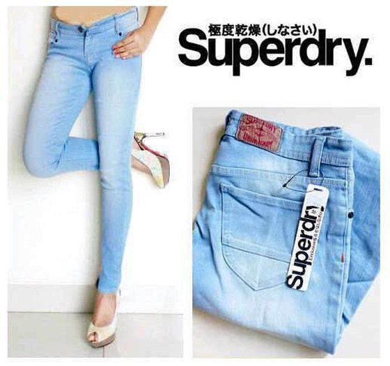 Sky blue jeans for women also can be found in our outlet. Various brands and latest models with student price. More info: 0813 2647 4121