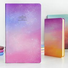 2015 de escritorio creativos estrella cuaderno de tapa dura A5 día planificador cuaderno duro diario personal agenda school supplies envío gratis(China (Mainland))