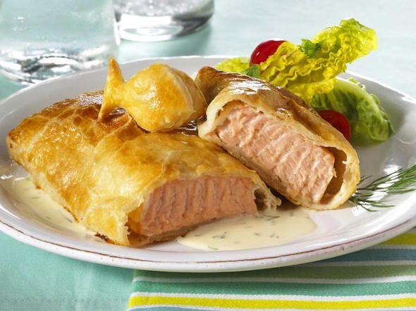 Wie gefällt Ihnen unser Kochkurs für Lachs im Blätterteig?