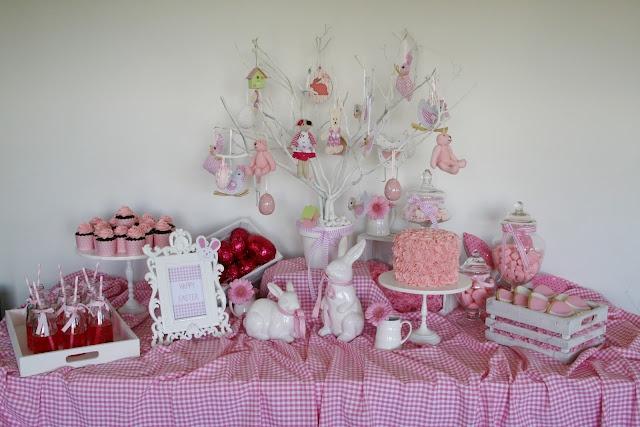 Easter Desert table