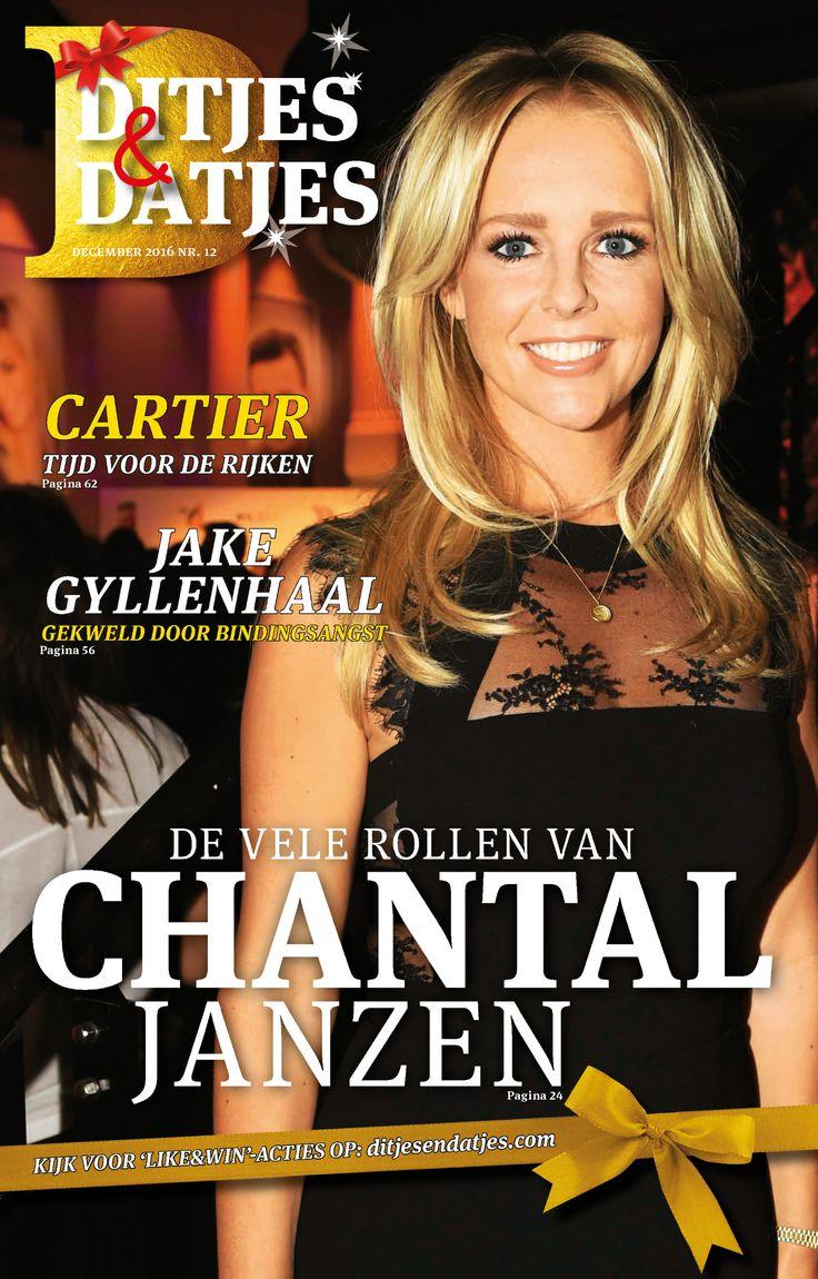 Ditjes & Datjes 12, 2016 met de vele rollen van Chantal Janzen. Vanaf vrijdag 25 november in de winkel. #DitjesDatjes #Dirk #DirckIII #supermarkt #slijterij #magazine #tijdschrift #ChantalJanzen