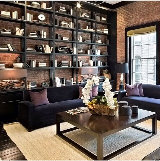 1000 ideas about exposed brick apartment on pinterest for Exposed brick wall mural