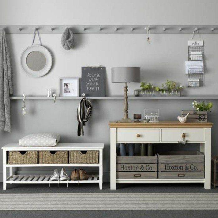 am nager une entr e plus de 40 exemples en photos pour vous meuble couloir banc de. Black Bedroom Furniture Sets. Home Design Ideas