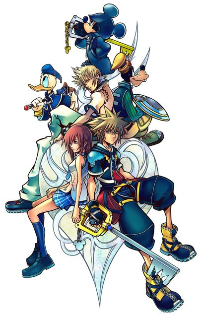 Kingdom Hearts, My favorite video game and one of Jacob's too. I got lost in this game for hours just like I am now with Pinterest