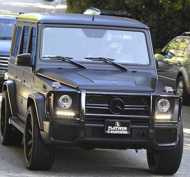 Matte black mercedes g wagon one day ill have this baby for Mercedes benz rover