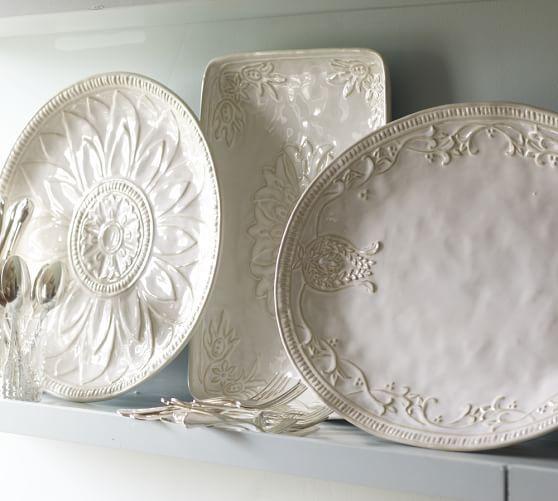 Juliette Oversized Serving Platters | Pottery Barn