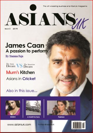 AsiansUK magazine - Out 20th March Order your copy now at  WH Smiths