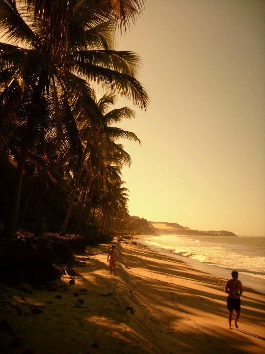 The beach at Pipa has to be one of my favorite places in Brazil.
