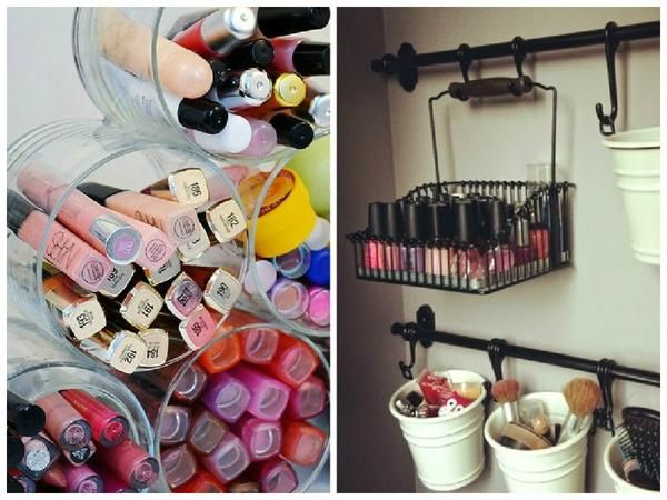 recycled crafts and modern storage solutions to get organized