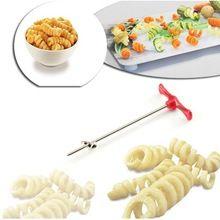 Manual Spiral Slicer Tornado Potato Spiral Cutter Vegetable Shred Device Kitchen Tools Accessories Making Twist Shredder (China)