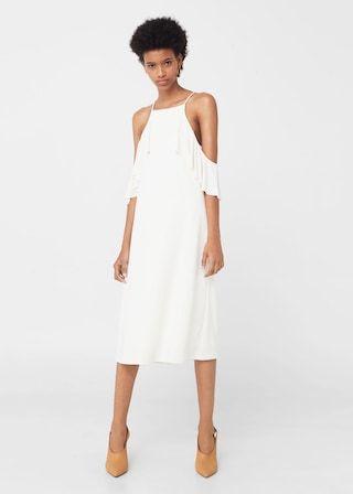 Šaty s volány | MANGO