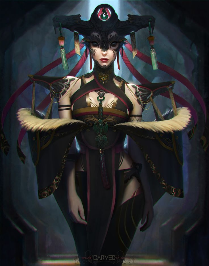Carved - Character Exploration, Tony Yin on ArtStation at https://www.artstation.com/artwork/9yLZW