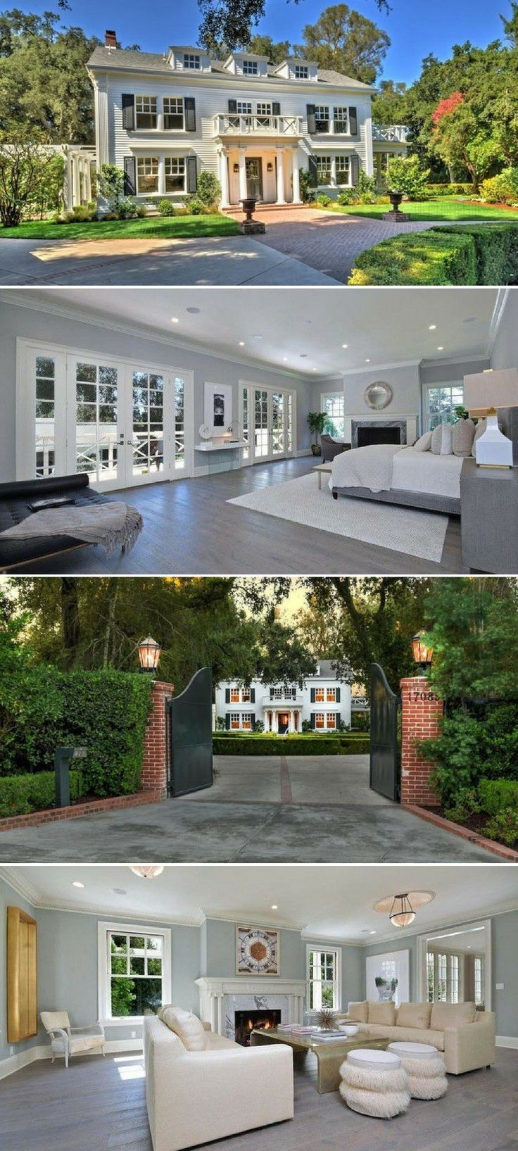 Kyle Richards and her real estate mogul husband, Mauricio Umansky, have purchased one of the most expensive homes to come on the market in the unlikely locale of Encino. #celebrityhomes
