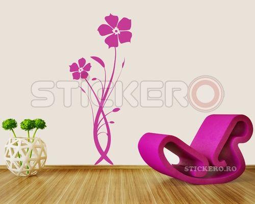 Sticker decorativ Floare Gratioasa
