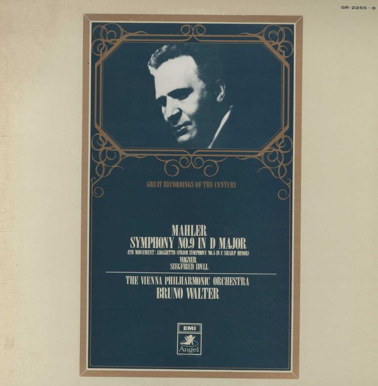 The Vienna Philharmonic Orchestra cond by Bruno Walter - Mahler Symphony No. 9 In D Major