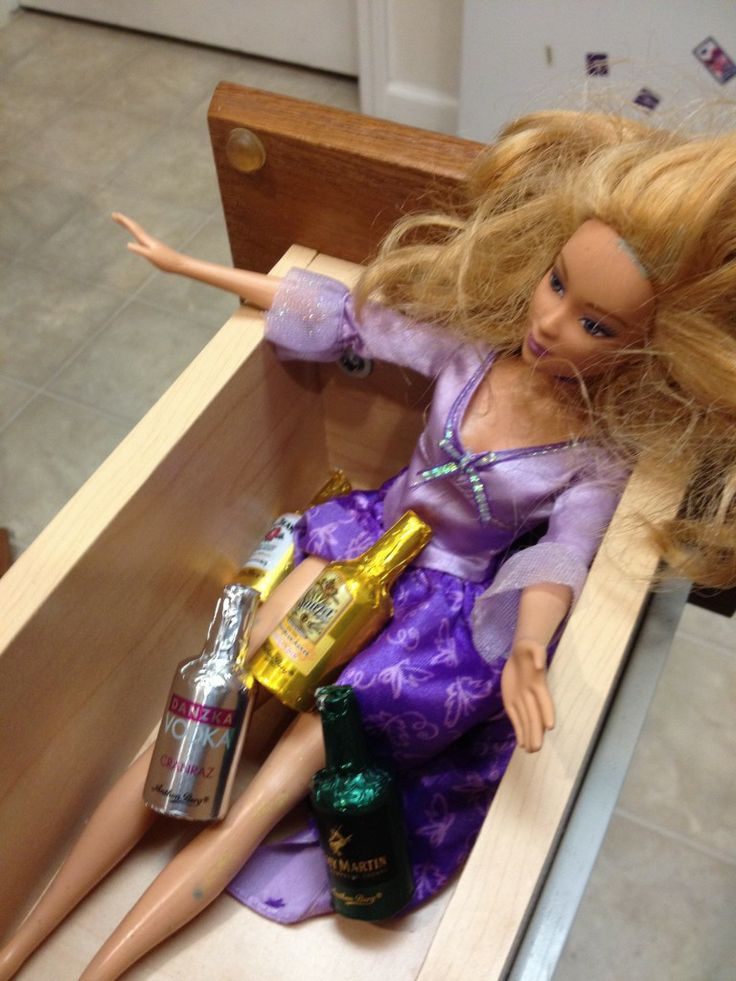 I see your elf on a shelf picture and raise you 6 'Whore in a Drawer' photos.