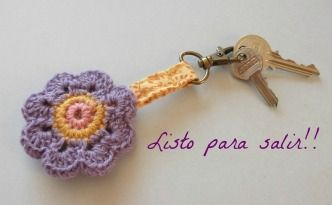 Llavero de ganchillo - Tutorial DIY - Lolahn Handmade