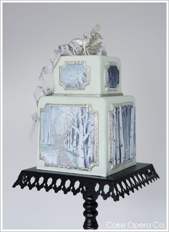 This is one of my favorite cakes! From my friend Alexadria Pellegrino of Cake Opera Co. !!!