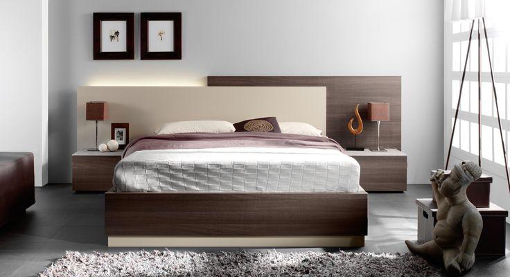 Dormitorio matrimonio 215 star center senia - Muebles dormitorio moderno ...