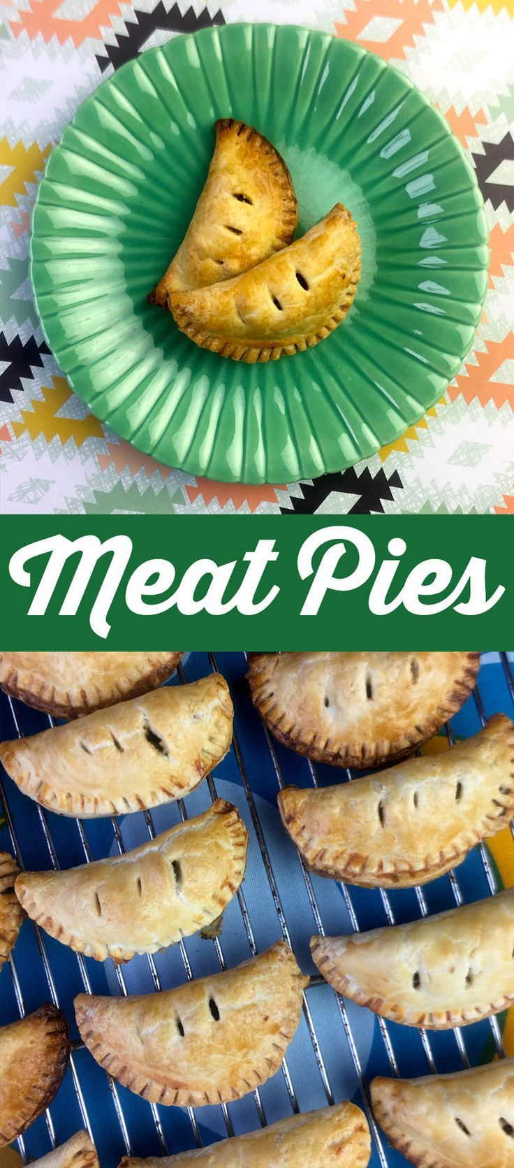 """These beef and vegetable hand pies are called """"pasties"""" by the British, who insist that they rhyme with """"nasties"""". Who cares what they are called though, they are delish."""