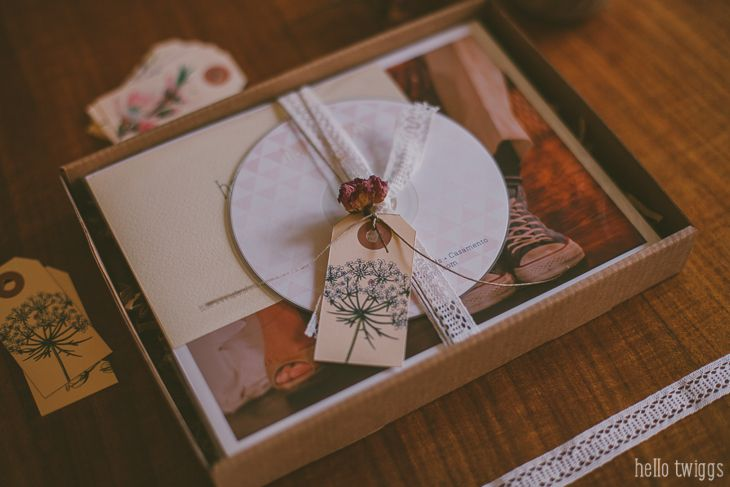 Fotografia de Casamento, Packaging and Wrapping, Wedding Photography Branding, Vintage Style Packaging for Photographers