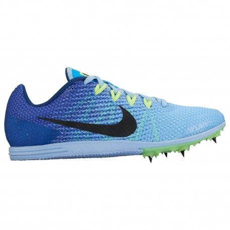 Nike Zoom Rival D 9 - Girls' Grade School - Track & Field - Shoes - Blue  Cap/Hyper Cobalt/Ghost Green/White-sku:6560401