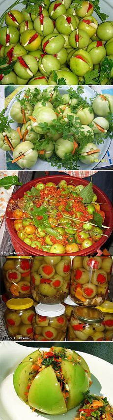 Things to do with green tomatoes.