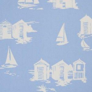 Beach Huts Blue