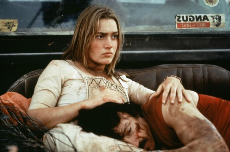 "Kate Winslet and Harvey Keitel in ""Holy Smoke"" (1999)"