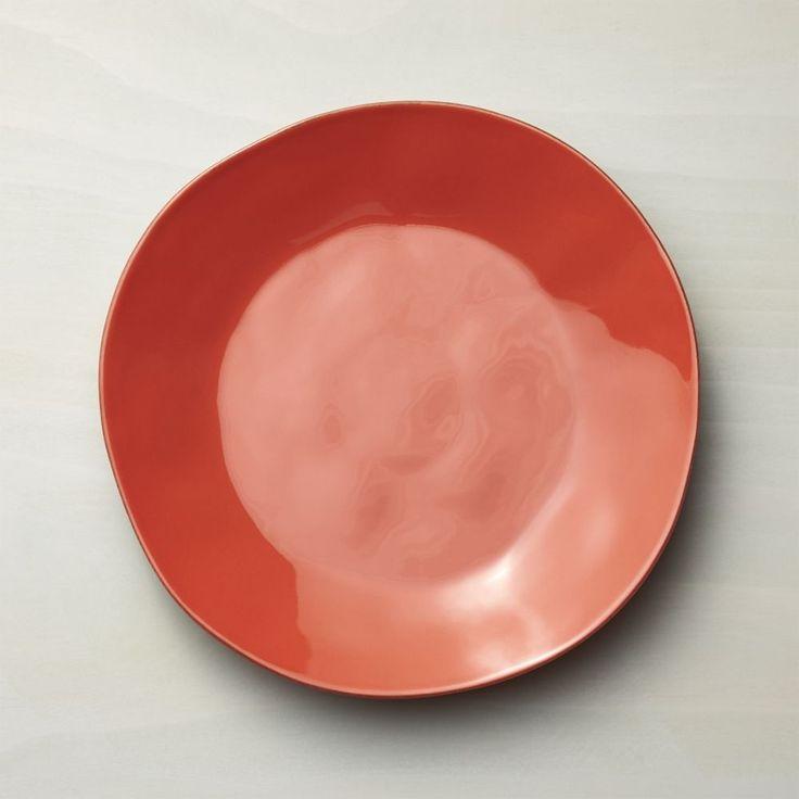 Marin Orange Dinner Plate - Crate and Barrel