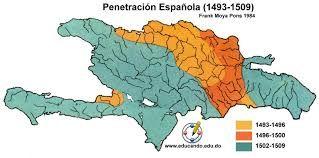 19 – Nicolás de Ovando envió a Andrés Morales para explorar completamente la isla de La Española. Morales completó el mapa de la isla en su totalidad.