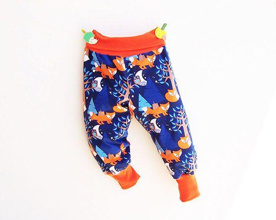 Nightfox Boy Girl Harem Pants Sewing Pattern Pdf Knit