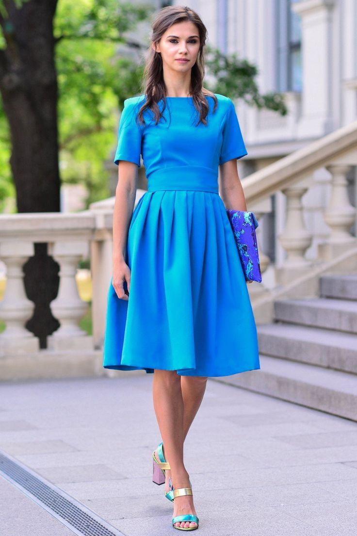 Purple Dress, Purple Clothing, Dress For Women, Knee Length Dress, Short Sleeved Dress, Minimalist Dress, Plus Size Dress, Club Dress in 2020 | Minimalist dresses, Purple outfits, Knee length dresses