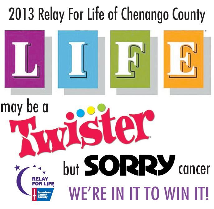 relay for life thank you | thank you for attending the 2013 relay for life of chenango county ...@jessicatretter Did we do this theme?