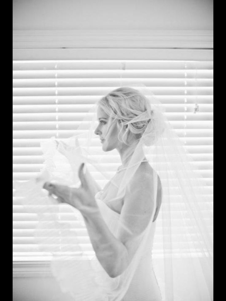 A veil is a beautiful part of your special day. Its like the finishing touch x