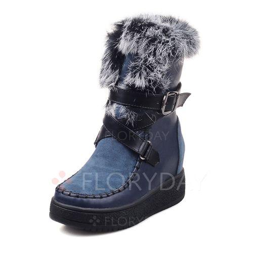 Zapatos - $50.77 - Zapatos Botas Botas longitud media Tipo de tacón Cuero (1625112809)