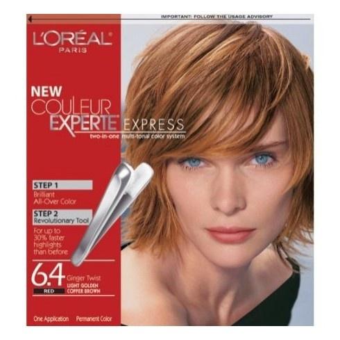 l 39 or al loreal couleur experte hair color cinnamon stick medium mahogany brown hair. Black Bedroom Furniture Sets. Home Design Ideas