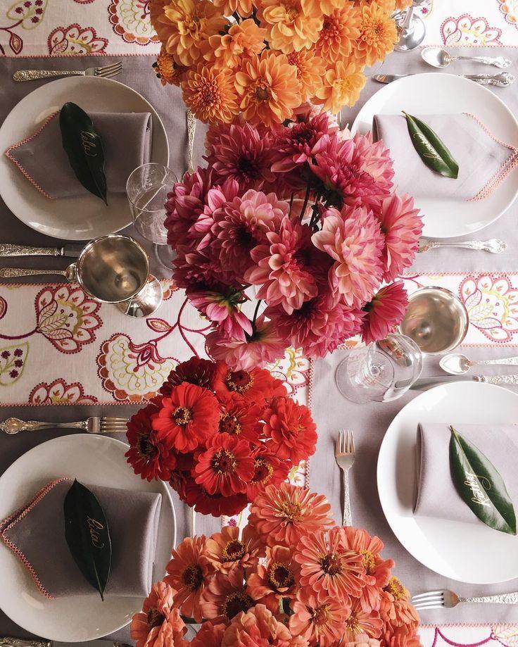 Lela Rose Fall Luncheon Table Decor Pinterest
