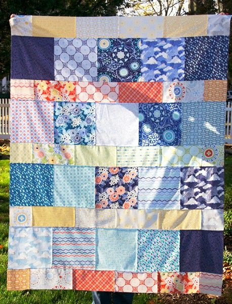 The Drawing Board: Layer Cake Lemonade Quilt