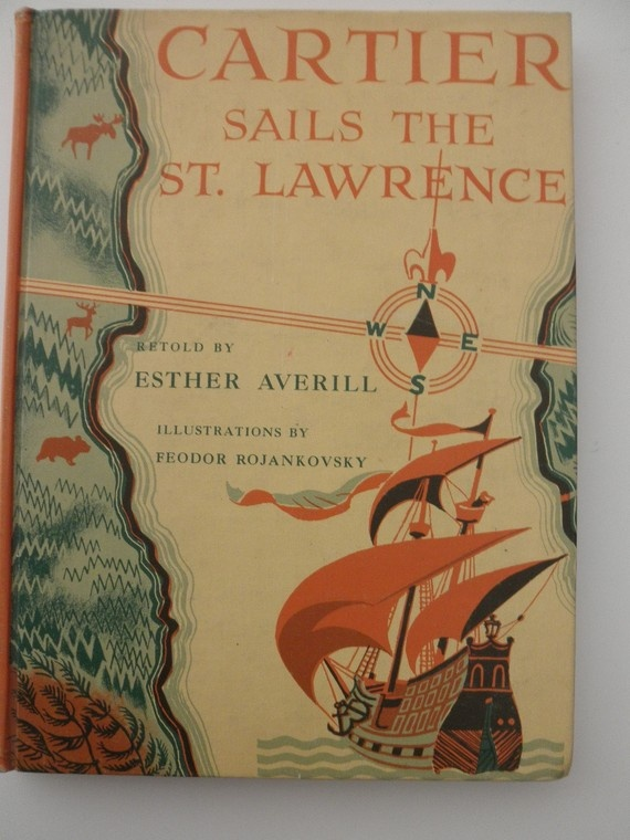 Vintage book. Cartier Sails the St. Lawrence, ca.1956