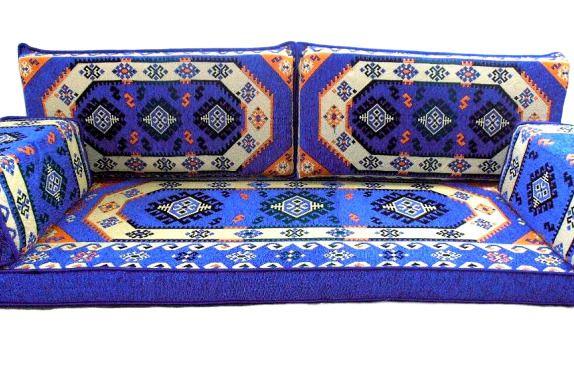 Turkish Sofa Oriental Set Majlis Kilim