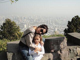 Chile para crianças: SANTIAGO: ZOOLÓGICO COM VISTA INCRÍVEL