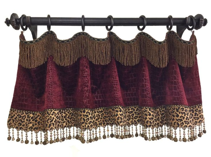628 best images about drapes on pinterest window for Animal print window treatments