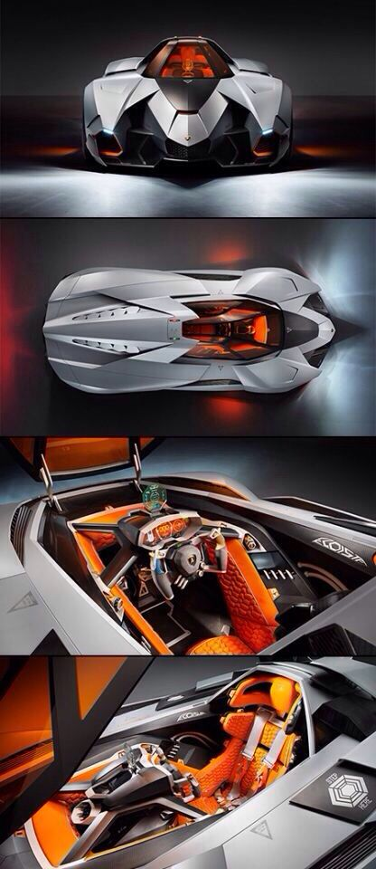 Lamborghini Egoista Concept Has Room For A Single Occupant, Is Powered By A  5.2