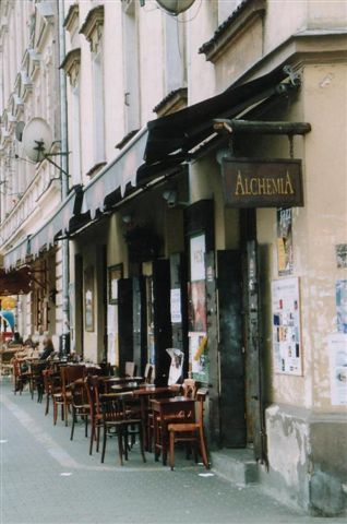 Alchemia bar, Krakow