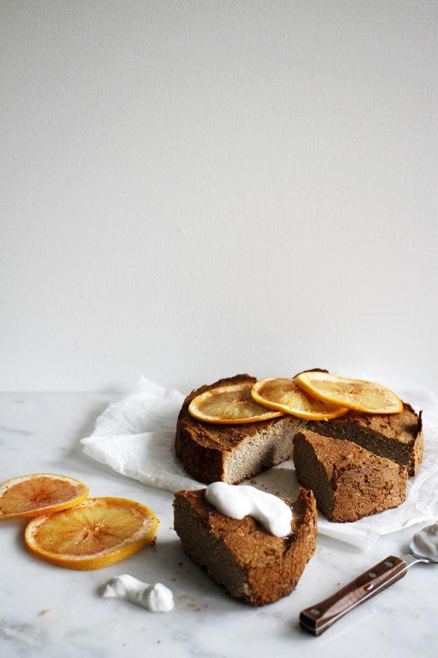 Vegan gluten free chai cake