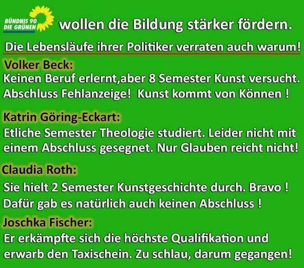 """Den """"Tag der Frau"""" haben die Grünen zum Anlass genommen, ihr gestörtes Verhältnis zur deutschen Identität erneut zur Schau zu stellen."""