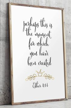 Bible verse printable scripture art Christian by TwoBrushesDesigns